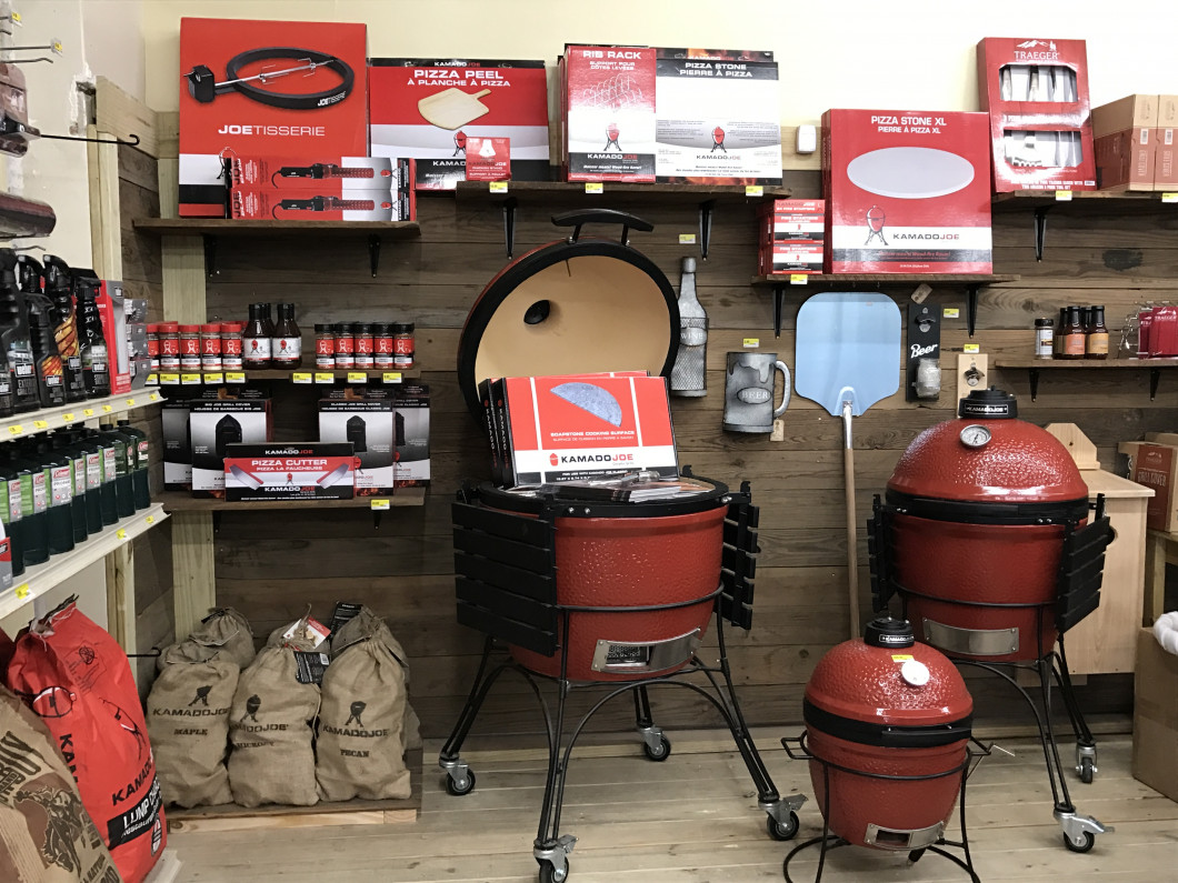 You'll flip over the grills at Brasseux's Hardware